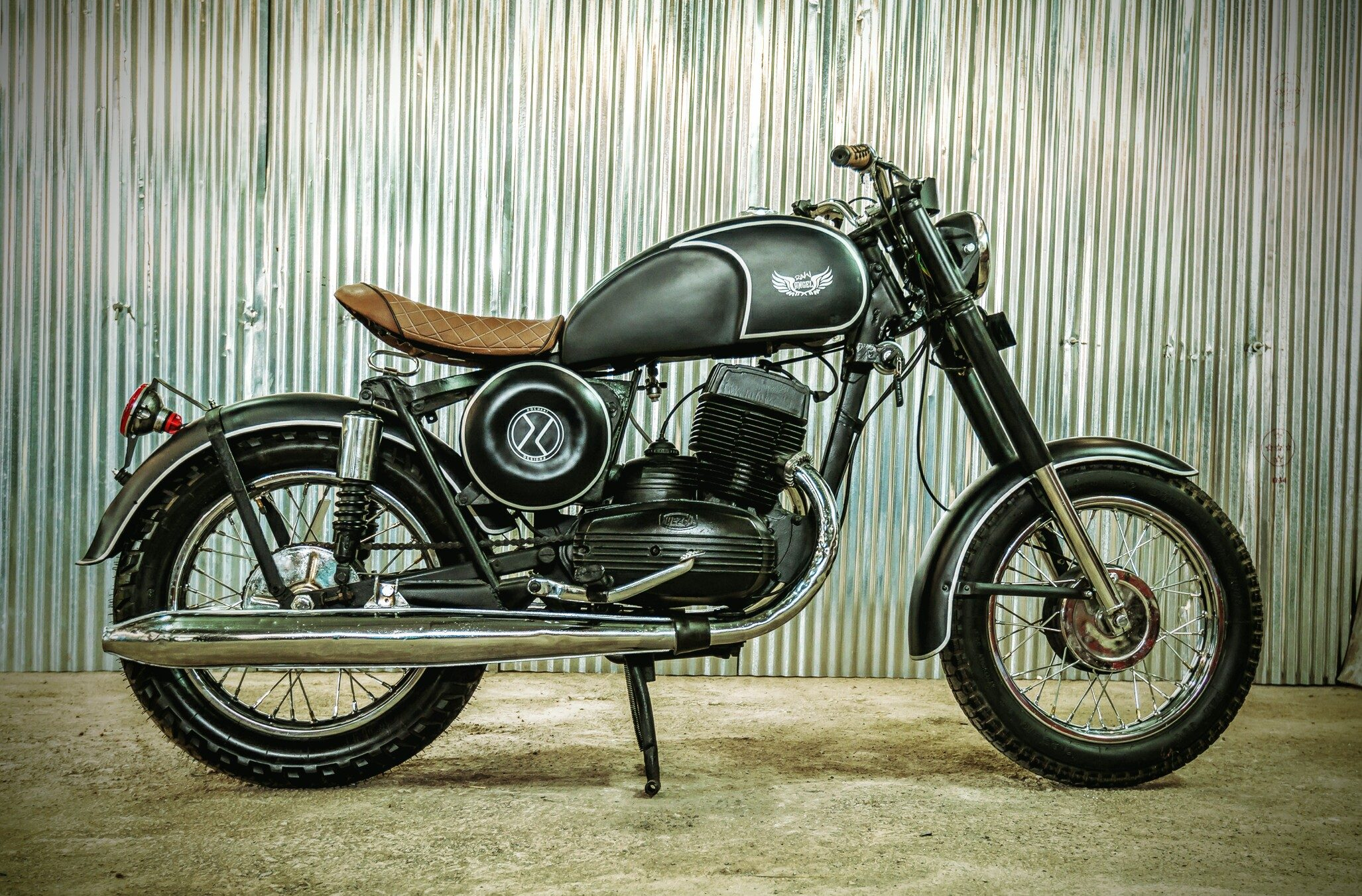 Raw Angel - custom Yezdi by Dochaki Designs Pune