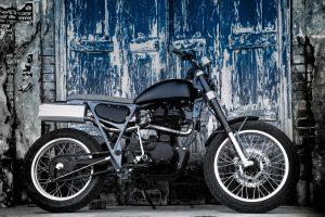 Bullet Scrambler - Royal Enfield 350 by Moto Exotica - custom bike