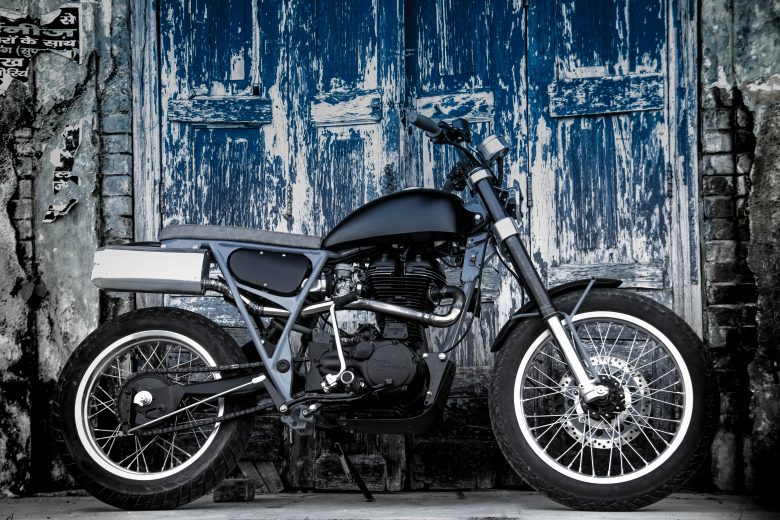 Bullet Scrambler - Royal Enfield 350 by Moto Exotica - custom bike
