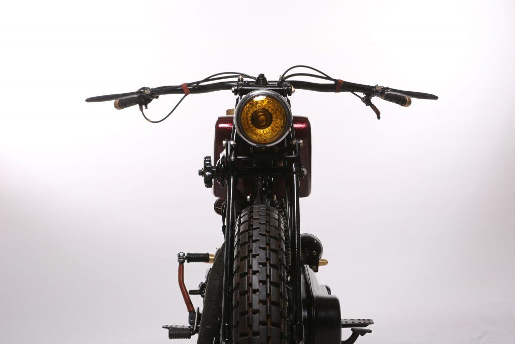 Barood - 2015 Royal Enfield Rider Mania Custom Bike Winner - headlamp