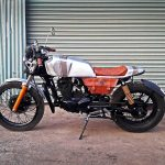 Hero Honda CBZ Custom Bike Cafe Racer