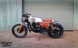 Hero Honda CBZ Custom Bike Cafe Racer