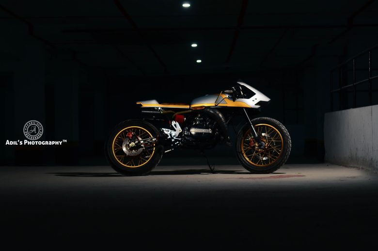 Yamaha - IBW 2017 custom bike